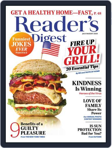 Reader's Digest Digital Magazine July 1st, 2020 Issue Cover