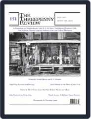 The Threepenny Review (Digital) Subscription September 1st, 2017 Issue