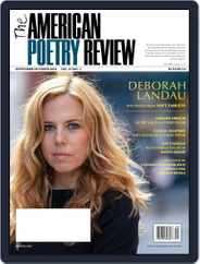 The American Poetry Review (Digital) Subscription September 1st, 2018 Issue