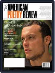 The American Poetry Review (Digital) Subscription September 1st, 2019 Issue