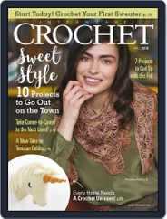 Interweave Crochet (Digital) Subscription August 16th, 2018 Issue