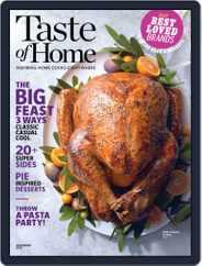 Taste of Home (Digital) Subscription November 1st, 2018 Issue