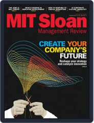 MIT Sloan Management Review (Digital) Subscription June 1st, 2017 Issue