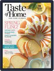 Taste of Home (Digital) Subscription April 1st, 2020 Issue