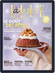 ELLE à Table (Digital) Subscription November 1st, 2018 Issue