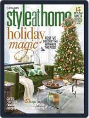 Style At Home Canada (Digital) Subscription December 1st, 2018 Issue