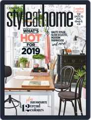 Style At Home Canada (Digital) Subscription January 1st, 2019 Issue