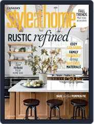 Style At Home Canada (Digital) Subscription October 1st, 2019 Issue