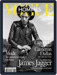 Vogue Hommes (Digital) Subscription March 18th, 2016 Issue