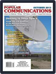Popular Communications (Digital) Subscription October 1st, 2013 Issue