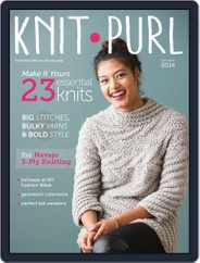 knit.purl Magazine (Digital) Subscription October 1st, 2014 Issue