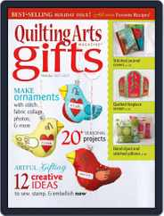 Quilting Arts Holiday Magazine (Digital) Subscription October 28th, 2011 Issue