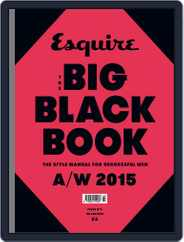 Esquire: The Big Black Book Magazine (Digital) Subscription September 21st, 2015 Issue