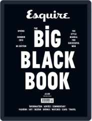 Esquire: The Big Black Book Magazine (Digital) Subscription March 22nd, 2013 Issue