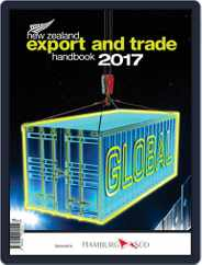 Nz Export And Trade Handbook Magazine (Digital) Subscription January 28th, 2017 Issue