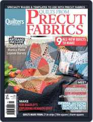Quilts From Precut Fabrics Magazine (Digital) Subscription June 9th, 2015 Issue