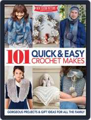 101 Quick & Easy Crochet Makes Magazine (Digital) Subscription October 8th, 2014 Issue