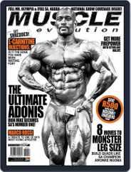 Muscle Evolution (Digital) Subscription November 1st, 2016 Issue