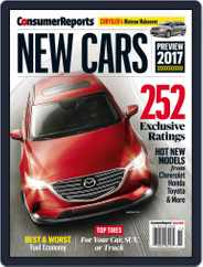 Consumer Reports New Cars (Digital) Subscription August 23rd, 2016 Issue