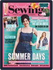 Simply Sewing (Digital) Subscription August 1st, 2020 Issue