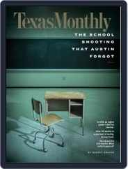 Texas Monthly (Digital) Subscription April 1st, 2020 Issue