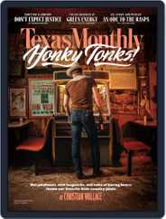 Texas Monthly (Digital) Subscription September 1st, 2019 Issue
