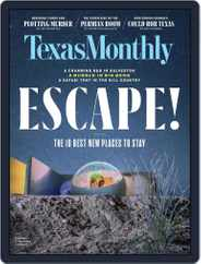 Texas Monthly (Digital) Subscription June 1st, 2019 Issue
