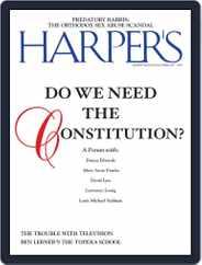 Harper's (Digital) Subscription October 1st, 2019 Issue