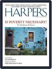 Harper's (Digital) Subscription June 1st, 2019 Issue