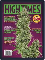 High Times (Digital) Subscription April 1st, 2020 Issue