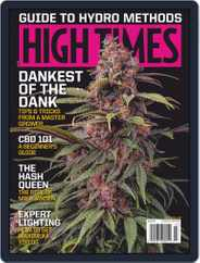 High Times (Digital) Subscription July 1st, 2019 Issue