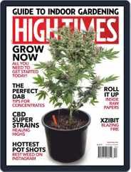 High Times (Digital) Subscription April 1st, 2019 Issue