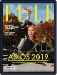 Elle México (Digital) Subscription December 1st, 2019 Issue