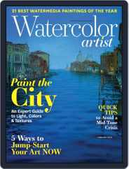 Watercolor Artist (Digital) Subscription February 1st, 2019 Issue