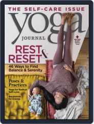 Yoga Journal (Digital) Subscription November 1st, 2019 Issue
