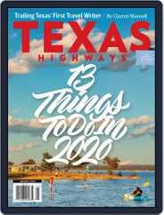 Texas Highways (Digital) Subscription January 1st, 2020 Issue
