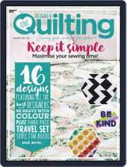 Love Patchwork & Quilting (Digital) Subscription January 1st, 2020 Issue