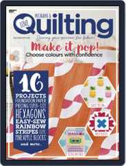 Love Patchwork & Quilting (Digital) Subscription October 1st, 2019 Issue