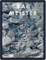 Baumeister (Digital) Subscription September 1st, 2019 Issue