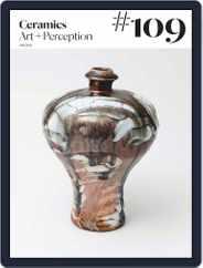 Ceramics: Art and Perception (Digital) Subscription July 25th, 2018 Issue