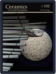 Ceramics: Art and Perception (Digital) Subscription December 22nd, 2015 Issue