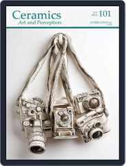 Ceramics: Art and Perception (Digital) Subscription September 1st, 2015 Issue