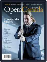 Opera Canada (Digital) Subscription September 1st, 2019 Issue