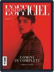 L'Officiel Hommes Italia (Digital) Subscription October 25th, 2017 Issue