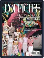 L'Officiel 1000 modèles - L'Intégrale Magazine (Digital) Subscription November 19th, 2013 Issue