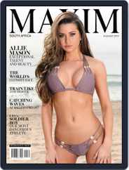 Maxim South Africa (Digital) Subscription August 1st, 2017 Issue