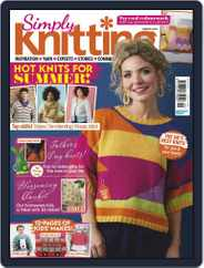 Simply Knitting (Digital) Subscription July 1st, 2020 Issue