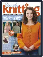 Simply Knitting (Digital) Subscription November 1st, 2019 Issue