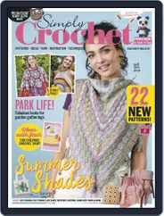 Simply Crochet (Digital) Subscription September 17th, 2020 Issue