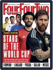 Australian FourFourTwo (Digital) Subscription July 1st, 2018 Issue